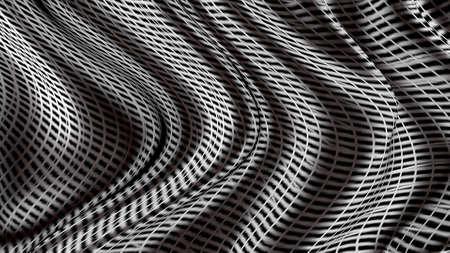 Waves of lines of unreal space. Reklamní fotografie