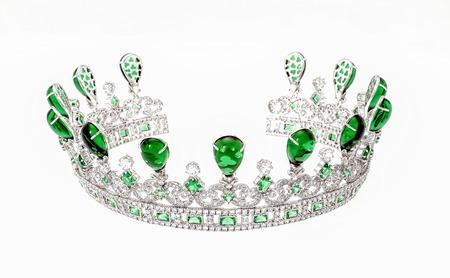 groene diamant. Stockfoto