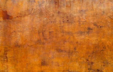 Orange grunge cement wall background