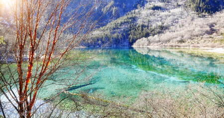 world natural heritage: Jiuzhaigou Valley Scenic , Sichuan, China