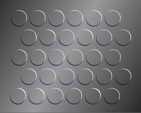 Vector - Illustration of background ,The round pattern texture on the rubber mats