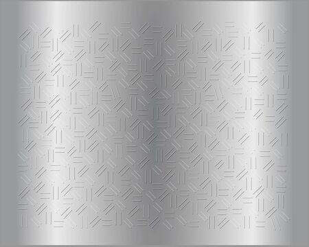 Vector - Illustration of Steel sheet background