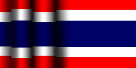 Vector -  Illustration of Thailand Flag Illustration