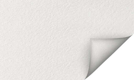 Vecture illustration,White Paper Texture - Folded Corner Standard-Bild
