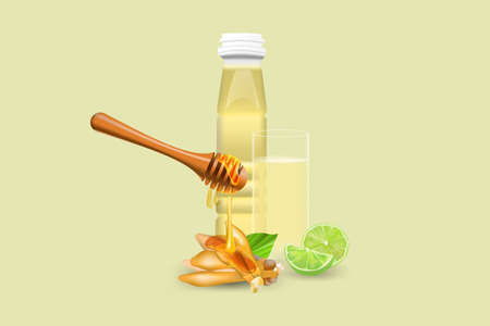 Finger Root Extract with Honey & Lime  Refreshing Herbal juice