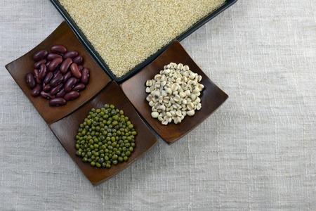 alimentacion sana: comida sana Foto de archivo