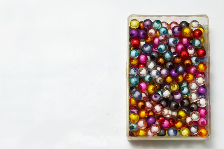 holdfast: bead and color Stock Photo