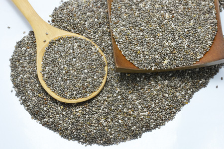 dring: Chia seed Stock Photo