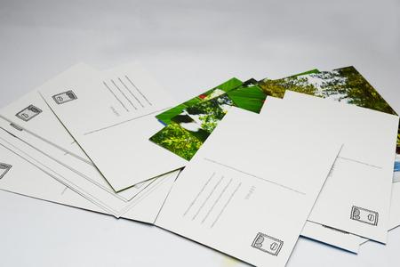 post: post card Stock Photo