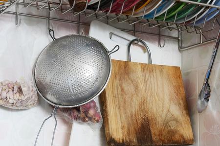 the equipment: kitchen equipment Stock Photo