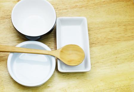 chop stick: ceramic set Stock Photo