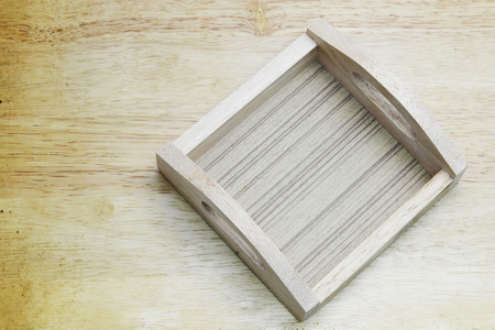 chop stick: wood basket