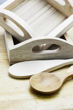 chop stick: wood spoon