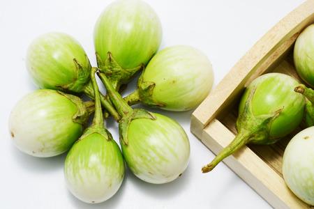 capsicum plant: egg plant