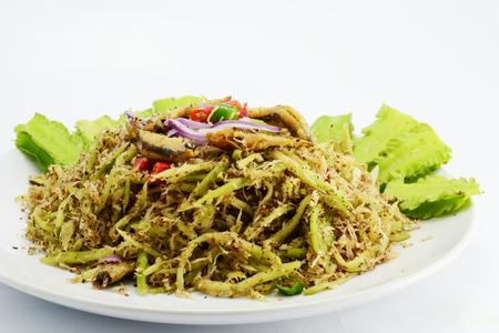 mango: Green Mango Sałatka
