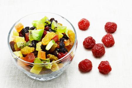 frutos secos: dried fruits Foto de archivo