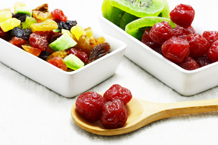 dried food: dried fruits Stock Photo