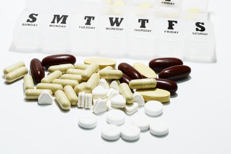 medicine box: medicine and weekly medicine box