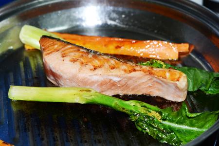 carot: salmon