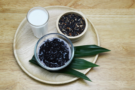coconut milk: Thai dessert in coconut milk