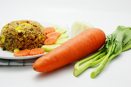carots: vegetable and carrot for cooking