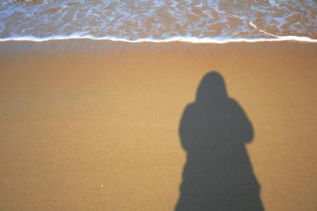 white sand beach: beach and holiday