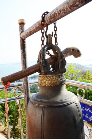 buddhist: bell in buddhist style Stock Photo