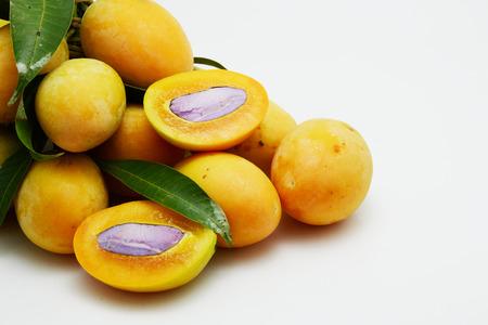 monkey apples and yellow fruit