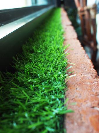 green line: green line decoration Stock Photo