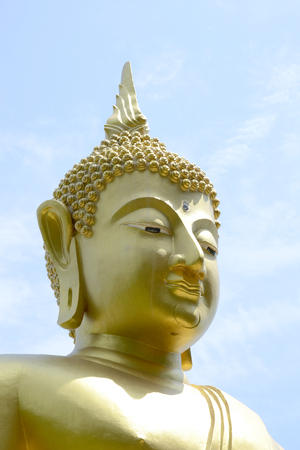 unruffled: Buddha image Stock Photo