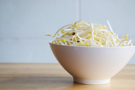 bean sprouts: green bean sprouts for cook