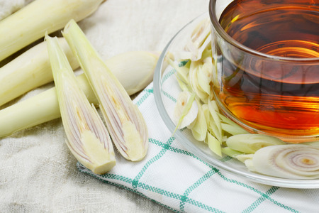 lemongrass: lemongrass and lemongrass tea