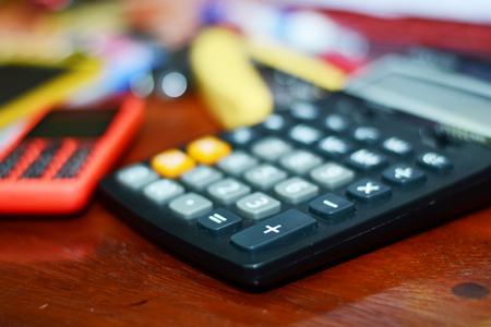 calculator, officer Stock Photo