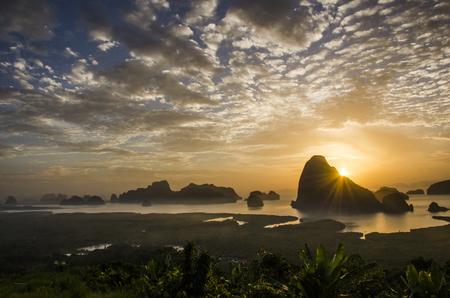 Samet Nang chee view opint, Phang Nga bay