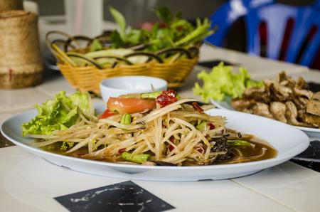 Thai food, Thai spice food Stock Photo