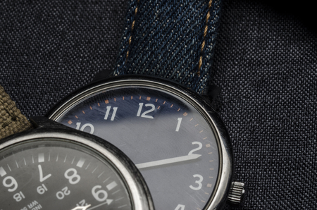 watch and vintage style