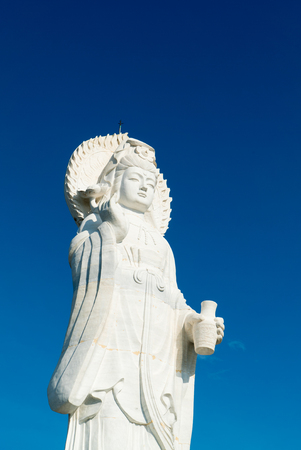 goddess of mercy: Goddess of compassion and mercy statue