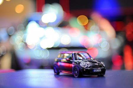cooper: Mini Cooper Clubman toy car