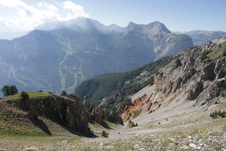 bardonecchia: bardonecchia area, mountain panorama