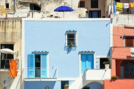 south italy: colour house in south Italy