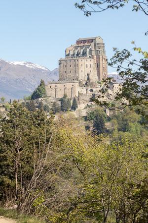 View Of The Sacra Di San Michele ( Saint Michael\'s Abbey ...