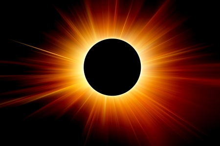 protuberances: solar eclipse the sun rays background