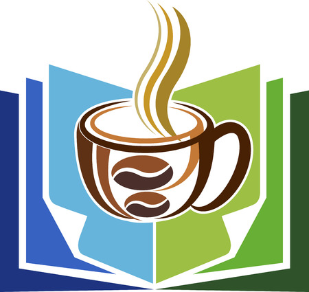 hot coffees: Illustration art of a education energy icon with isolated background