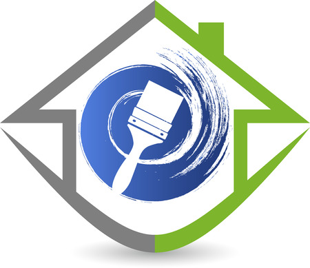 contractor: Illustration art of a home decoration icon with isolated background