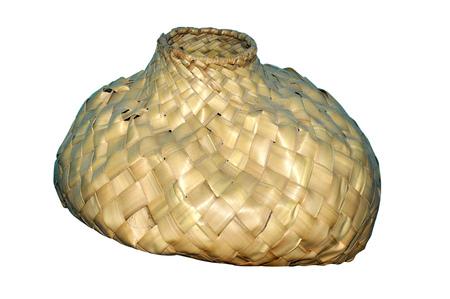 deg: camera shot on hand made bali basket
