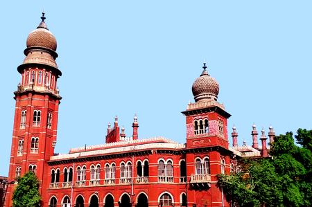 camera shot on madras high court in chennai, India
