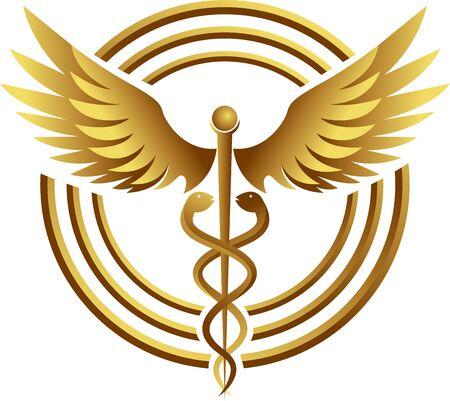 Illustration art of a medical icon with isolated background Illusztráció