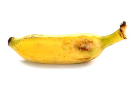 single banana on isolated background Stock fotó