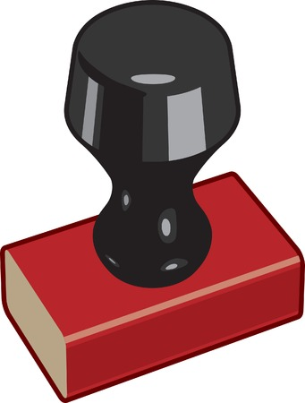 Rubber Stamp Vector