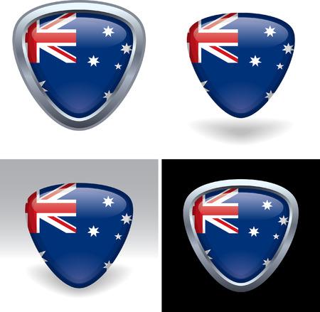 Australian Flag Crest
